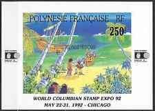 POLYNÉSIE FRANÇAISE BLOC N°20 - NEUF ** AVEC GOMME D'ORIGINE - COTE 8€