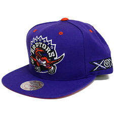 Mitchell & Ness Toronto Raptors 20th Anniversary Snapback Hat (Purple)