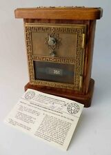 Vintage 67 FEDERAL Post Office Door Mail PO Box Coin Dial Bank Combination Lock