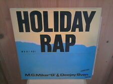"MC MIKER G & DEEJAY SVEN holiday rap 12"" MAXI 45T"