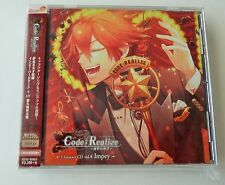 Code Realize Character CD Limited Edition Impey Barbicane Bonus Keychain New