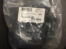 Stellar Labs 24-9517 100FT STEREO AUDIO CABLE (2 RCA-M TO RCA-M)