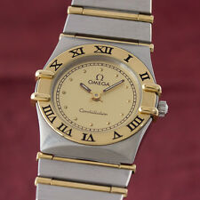 OMEGA LADY CONSTELLATION GOLD / STAHL DAMENUHR 795.1080 VP: 3960,- EURO