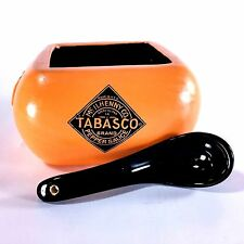 Tabasco Sauce Salsa Bowl Serving Dish and Spoon Chip Dip Party Platter