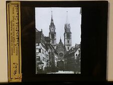 St. Lorenz (Lawrence) Church, Nuremberg, Germany, Magic Lantern Glass Slide