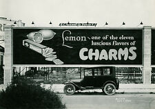 Asbury Park New Jersey Lemon Charms Candy Billboard 1920 Aug 8 x 10 Photograph