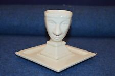 Lovely Rare Carlton Ware Lustre ''Centurion Egg Cup'' With Underplate RD6682