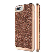 "Prodigee Fancee Rose Pink iPhone 7 Plus 5.5"" Glitter Dazzling Sparkle Case Cover"