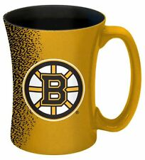 Boston Bruins Mocha Coffee Mug [NEW] 14 Ounce Oz. NHL Tea Cup Microwave