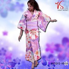 "Cloth Action Figure 1/6 Scale Collection Kimono For 12"" Body VSTOYS HF08"
