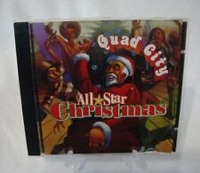Quad City: All-Star Christmas Various Artists CD 1996 Big Beat Records Rap Dance