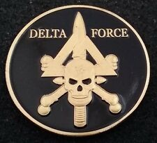 1st Special Forces Operational Detachment Delta Force JSOC SFOD-D Challenge Coin