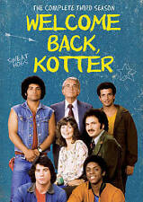 Welcome Back Kotter: Season Three 3 (DVD, 2015) Still sealed w/ hole in UPC.