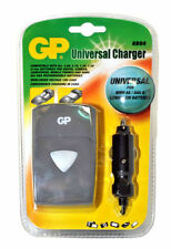 GP KB04 UNIVERSAL BATTERY CAR & MAINS CHARGER - RECHARGEABLE BATTERIES AA AAA