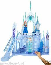 Disney Frozen Elsa Ice Magic Palace Just Like In The Movie Over 3 Ft Tall! NEW