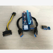 2016 New design stable version PCI express 1x to 16x riser for ETH GPU mining