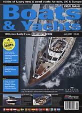 BOATS & YACHTS FOR SALE MAGAZINE - July 2007