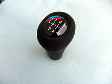 BMW E31, E34, E36, E46 M3 SHIFT KNOB, NEW ALCANTARA AND 6 SPEED EMBLEM
