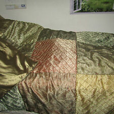 twin green satin comforter from j.c.pennys