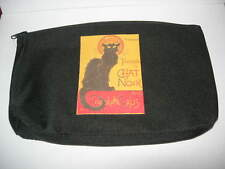 TROUSSE CHAT NOIR PARIS FRANCE CAT SPONGE BAG SACCO GATTO NERO GATO NEGRO