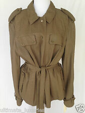 LANVIN BROWN PYTHON SNAKESKIN JACKET DRESS TOP BLAZER COAT NEW