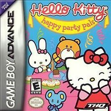 Hello Kitty: Happy Party Pals - Nintendo Game Boy Advance (Game and Case Only)..