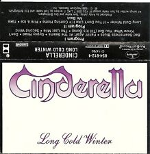 Long Cold Winter - Cinderella (Cassette, 1988, Mercury) Don't Know What You Got