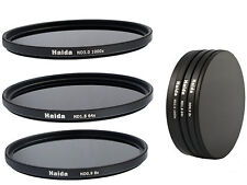 Haida ND graufilterset nd8x, nd64x, nd1000x - 82mm incl. Stack Cap