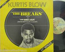 "KURTIS BLOW ~ The Breaks ~ 12"" Single PS USA PRESSING"