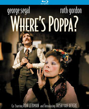 WHERE'S POPPA? (GEORGE SEGAL) - BLU RAY - Region A - Sealed