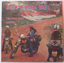 POCHETTE MOTO BSA (LP 33T) THE ROCK BAND REVIVAL  ROCK'N ROLL HITS