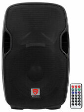 "Rockville BPA15 15"" Professional Powered Active 800w DJ PA Speaker w Blueto"