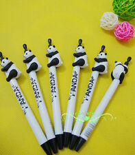 Lovely Giant Pandas Ballpoint Pen Design School Supplies Cute Animal Shaped LAD