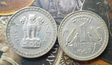 1962 - 1 Rupee Nickel – 10 g – ø 28 mm - india
