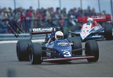 Martin Brundle Hand Signed 12x8 Photo Tyrrell Racing F1.