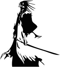 CUSTOM BLEACH KENPACHI ZARAKI ANIME VINYL DECAL BUMPER STICKER CAR TRUCK LAPTOP