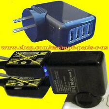 NEW POWER UP ONE OR TWO 2 LINES Magic Jack Plus GO Phone Systems 4 Port Adapter