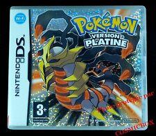 POKEMON PLATINE console Nintendo DS version Française dsi 3ds 3 en boite testé