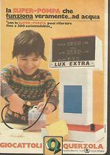 X7668 Super-Pompa Querzola che funziona veramente... - Pubblicità del 1977 - Adv