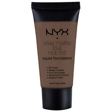 NYX Stay Matte But Not Flat Liquid Foundation 1.18 oz color SMF20 Deep Dark New