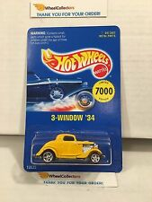 3-Window '34 Yellow * Early TImes Hemet Limited Edition * Hot Wheels * H41