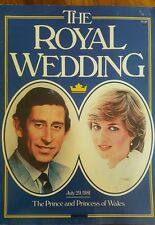 The royal wedding - July 29, 1981