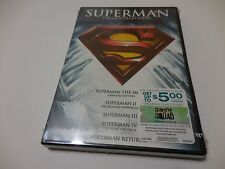 SUPERMAN: 5 FILM COLLECTION DELUXE 5 DISC SET DVD NEW / SEALED EL