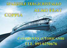 KIT 2 SPAZZOLE TERGICRISTALLO TERGIVETRO AERO FLAT FIAT IDEA 2004 IN POI
