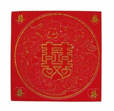 Feng Shui Double Happiness Sign with Dragon Phoenix Sticker