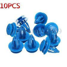10x Plastic Exterior Clip Front Wheel Arch Trim For Land Range Rover Evoque Blue