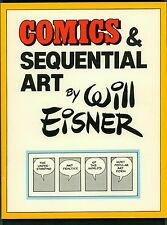 Comics & Sequential Art ~ Will Eisner ~ First Print Softcover ~ 1985 Poorhouse