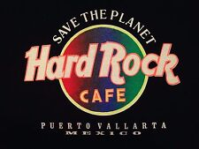 VINTAGE HARD ROCK CAFE PUERTO VALLARTA BLACK T SHIRT XL