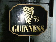 THE GUINNESS  WOODEN PUB SIGN