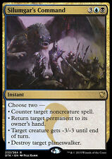SILUMGAR'S COMMAND NM mtg Dragons of Tarkir Gold - Instant Rare